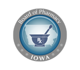 Board of Pharmacy Iowa Logo